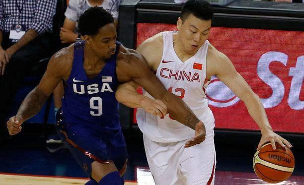 Kiinasta ei ollut Yhdysvalloille vastusta.