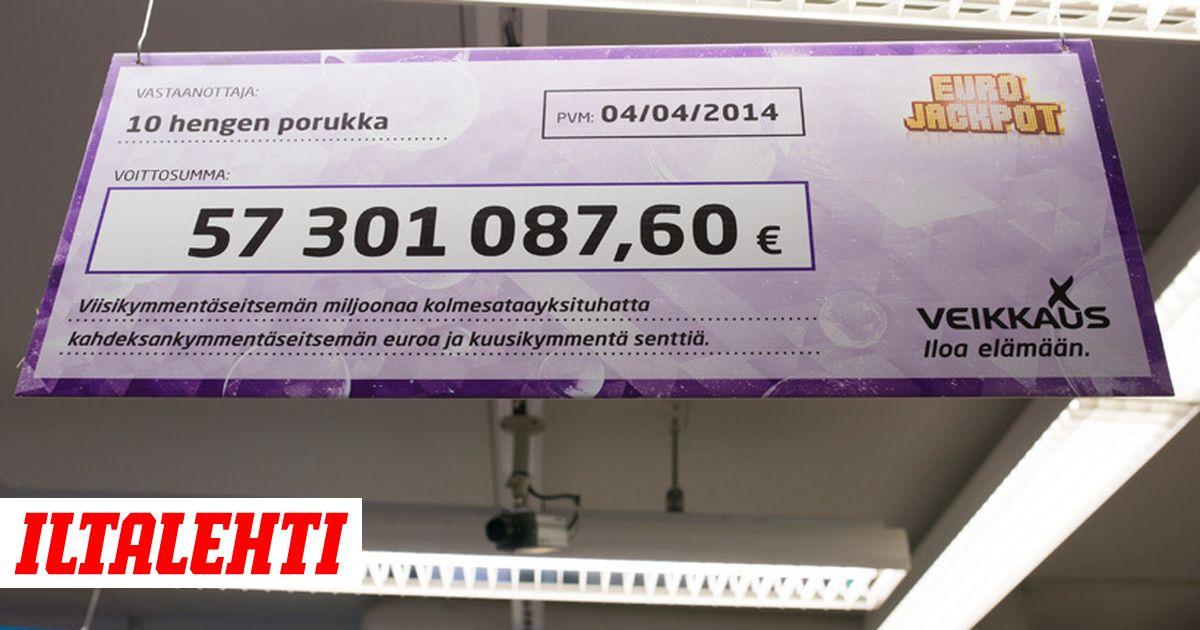 Eurojackpot 8.11 19