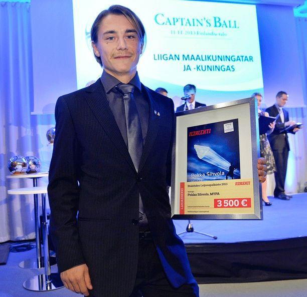 Mypan Pekka Sihvola voitti viime kaudella toisen kerran peräkkäin Iltalehden leijonapörssin.