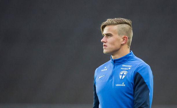 Eero Markkanen pelaa myös Suomen maajoukkueessa.