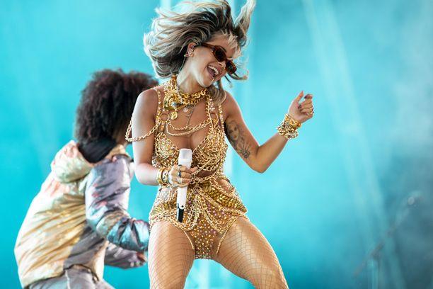 Rita Oran olemuksesta tuli välillä mieleen Shakira.
