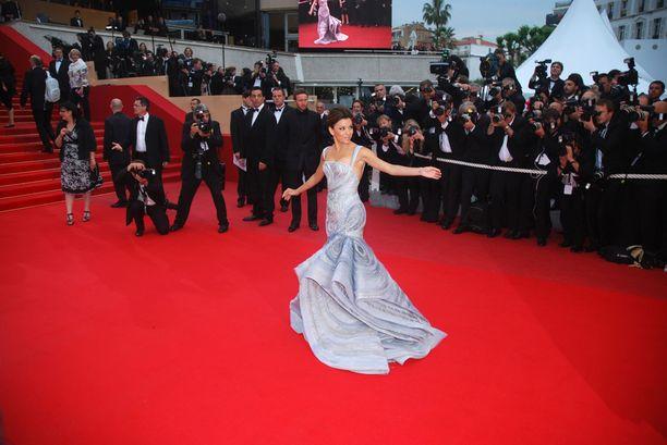 Vuonna 2009 Cannesin filmifestivaaleilla.