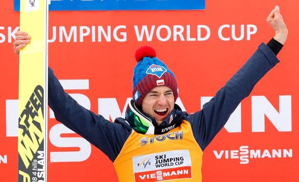 Kamil Stoch on maailman mäkihypyn ykkösnimi.
