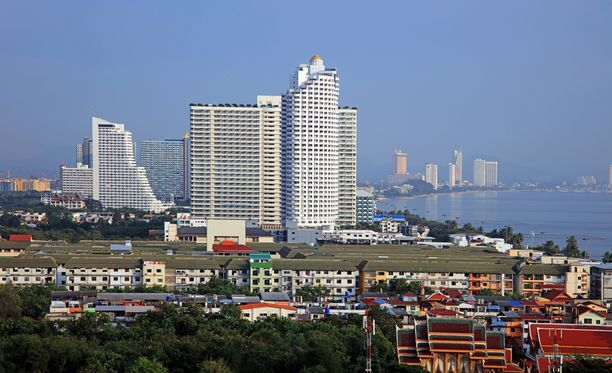 Suomalaismies loukkaantui Pattayalla, joka on Thaimaan suosituimpia turistikohteita.
