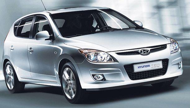 TULOSSA Uusi Hyundai i30 tulee Suomeen.
