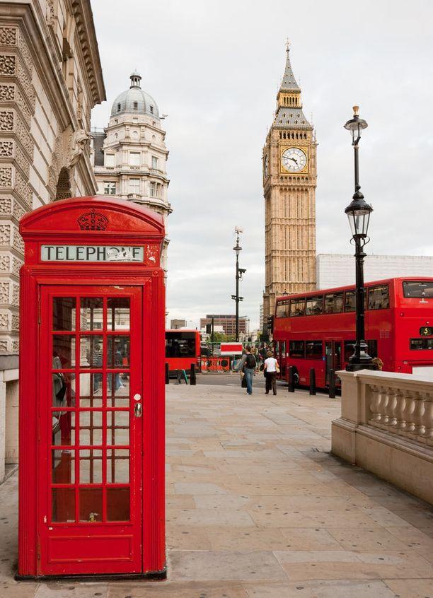 Lontoo, Iso-Britannia.