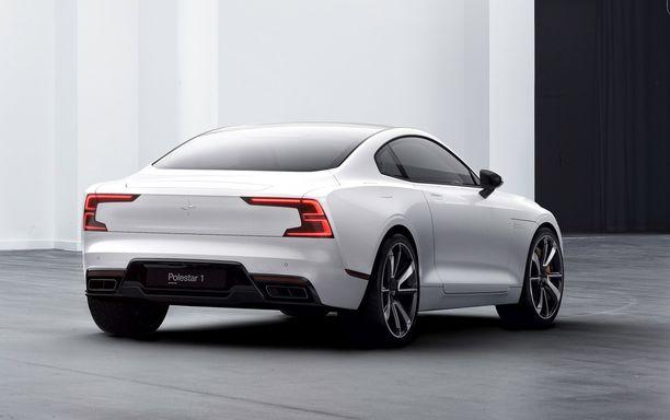Ison Volvon muotoa coupéssa. Polestar kilpailee varmasti muun muassa Audin coupemallien kanssa.