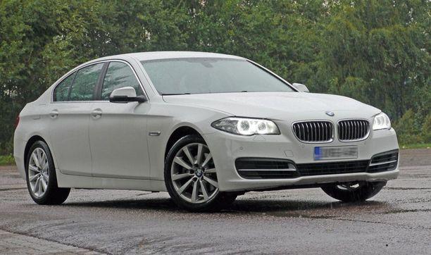BMW-malleista 5-sarjaa on haettu ehkä eniten. Kuvassa sedanmalli vuodelta 2013.