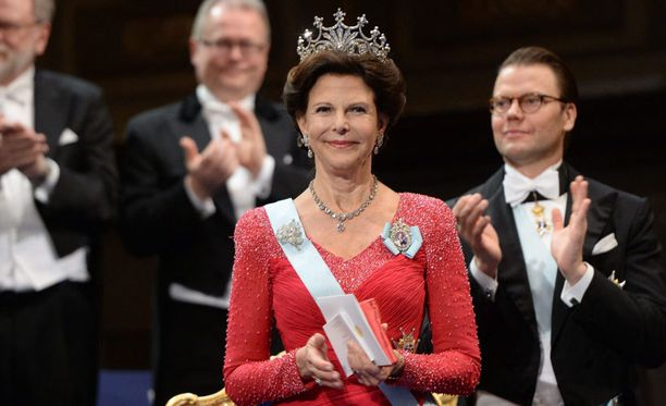Viime viikolla kuningatar Silvia hurmasi Nobel-juhlassa upeassa asussaan.