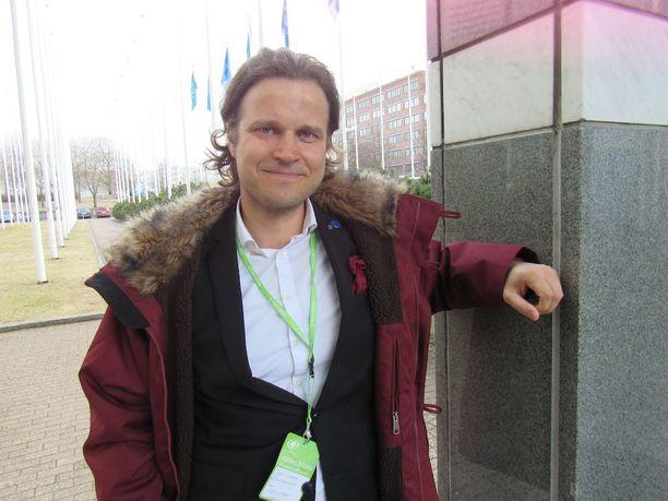 Ville-Veikko Rantamaula on Helsingin keskustan puheenjohtaja