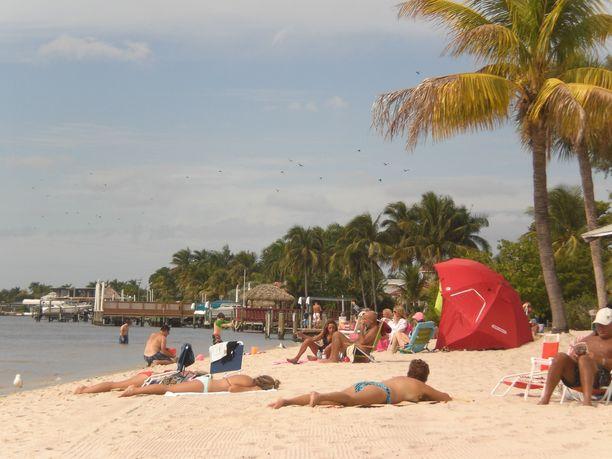 Kuvituskuva. Florida on yksi Yhdysvaltain suosituimpia aurinkolomakohteita.