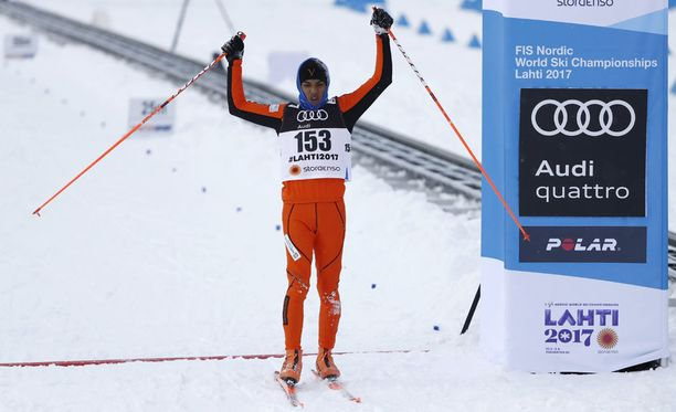 Adrian Solano oli sprintin karsinnan viimeinen, mutta pääsi kuitenkin tällä kertaa maaliin asti.