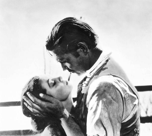 Vivien Leighin ja Clark Gablen tähdittämä Tuulen viemää on palkittu usealla Oscarilla.