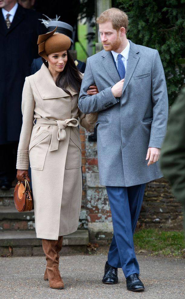 Meghan Markle ja prinssi Harry eivät ole Trumpin faneja.