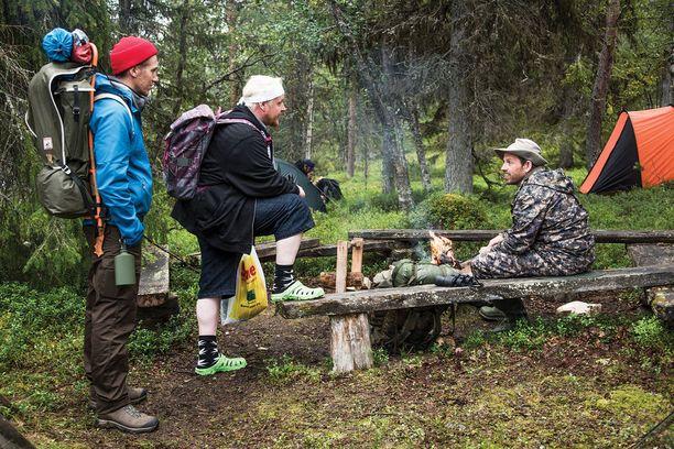 Janne, Kämäräinen ja Räihänen etsivät elämälleen tarkoitusta Napapiirin sankareiden kolmannessa osassa.