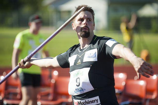 Antti Ruuskanen on Suomen yksi kolmesta mitalitoivosta aavikolla.