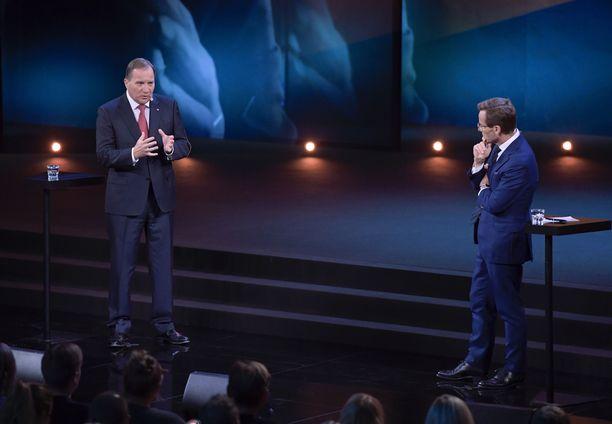 Demarien Stefan Löfven tai maltillisen kokoomuksen Ulf Kristersson ovat käytännössä Ruotsin pääministerivaihtoehdot.