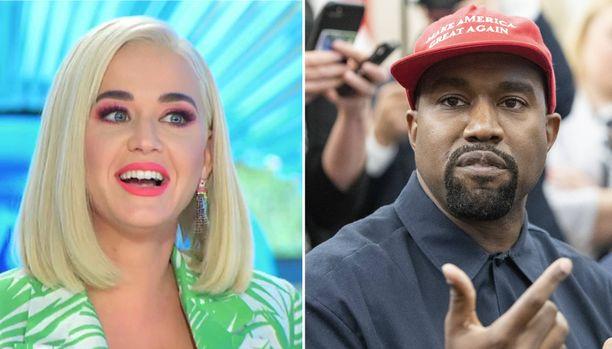 Toimittaja kysyi Katy Perryltä, mitä mieltä hän on siitä, että Kanye West havittelee presidentin roolia.