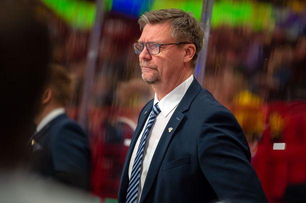 Jukka Jalonen ei vielä tiedä Karjala-turnauksen kokoonpanoa.