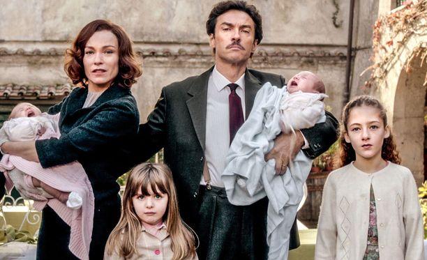 Giovannin riemuksi perheen neljästä lapsesta yksi on poika.
