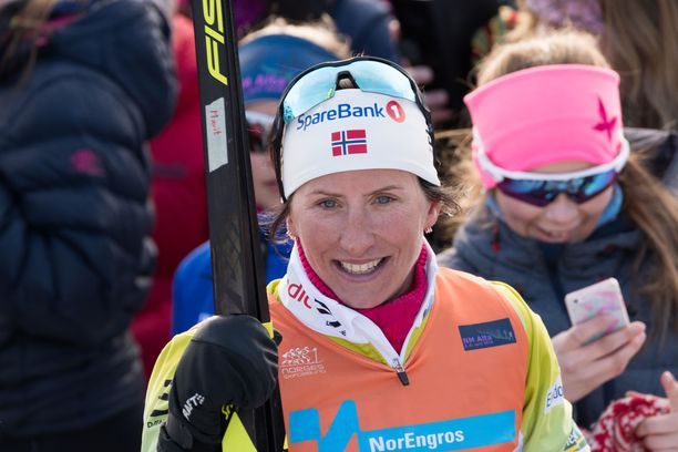 Marit Björgen lopetti hiihtouransa vuonna 2018.