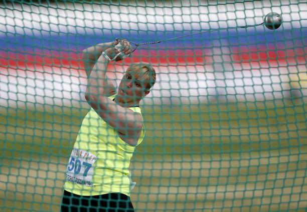 Tatjana Katshegina narahti melkoisesta dopingcocktailista.