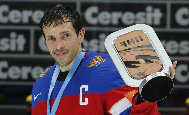 Pavel Datsjuk on tunnettu haastatteluhaluttomuudestaan ja kuivasta huumoristaan.