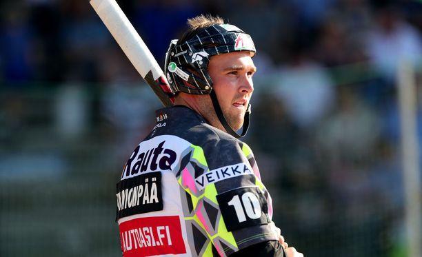 Jukka-Pekka Vainionpää rikkoi runkosarjan päätöskierroksella lyöjäkuningasennätyksen.