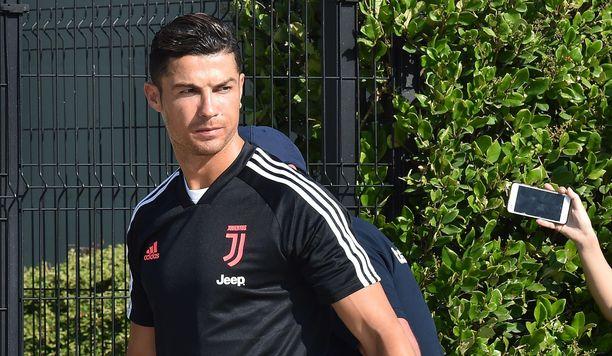 Cristiano Ronaldoa ei syytetä raiskauksesta Yhdysvalloissa. Kuvassa Ronaldo Italian Torinossa 13.7.2019.