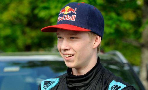 Kalle Rovanperä oli tyytyväinen MM-pisteisiin.