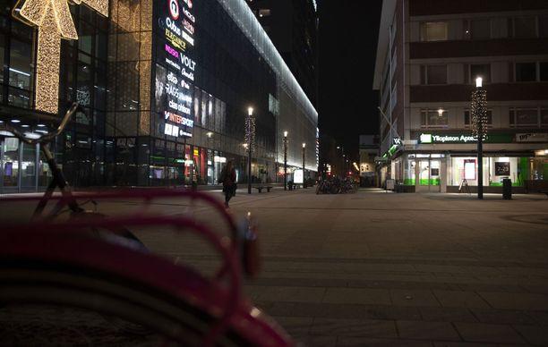 Nainen katosi kotoaan Muhokselta ja vei lapsensa Oulun keskustahotelliin, jossa rikokset tapahtuivat. Kuvituskuva.