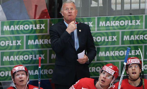 Janne Karlsson toimii Tanskan A-maajoukkueen päävalmentajana.