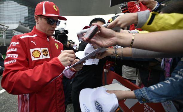 Kimi Räikkönen haluaa tallin oppivan virheistään.