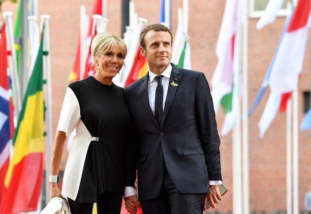 Emmanuel Macron voitti Ranskan presidentinvaalit toukokuussa.