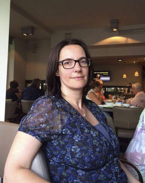 Belgialainen Elke Vanbockrijck, 44, oli Barcelonassa perheensä kanssa lomalla.