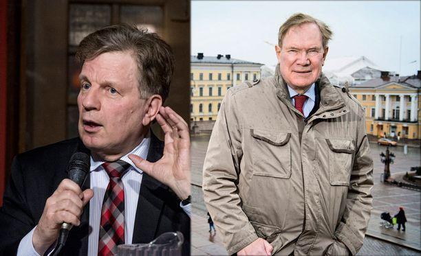 Kaksi entistä Suomen pääministeriä on rekrytoitu Kremlin hallitsemien yritysten palkkalistoille.