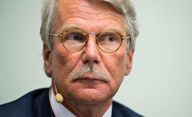 Nordean hallituksen puheenjohtajaksi ehdotetaan uudelleen Björn Wahlroosia.