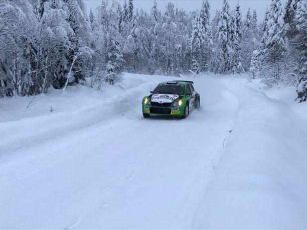 Nimi mieleen: pääluokan tulokas Eerik Pietarinen jahtaa menestystä Skoda Fabia R5 -autolla.