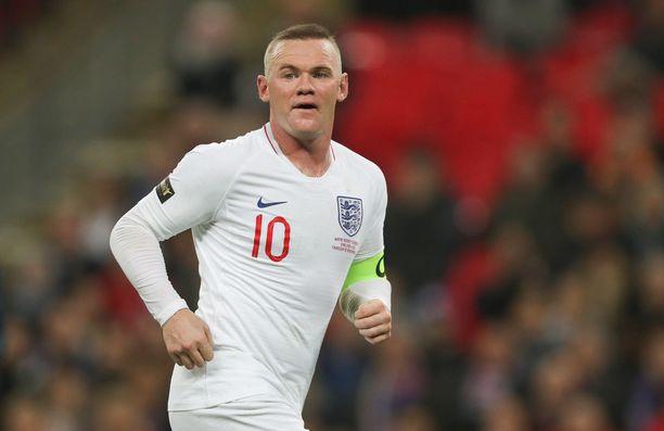 Wayne Rooney pelasi viimeistä kertaa Englannin maajoukkueessa marraskuussa.