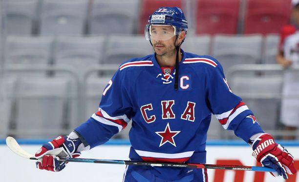 Ilja Kovaltshuk ei tule Karjala-turnaukseen.