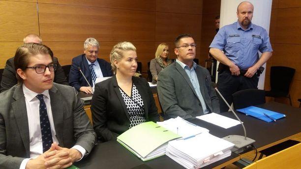 Ilja Janitskin saapui eilen alkaneeseen oikeudenkäyntiin rauhallisin mielin.