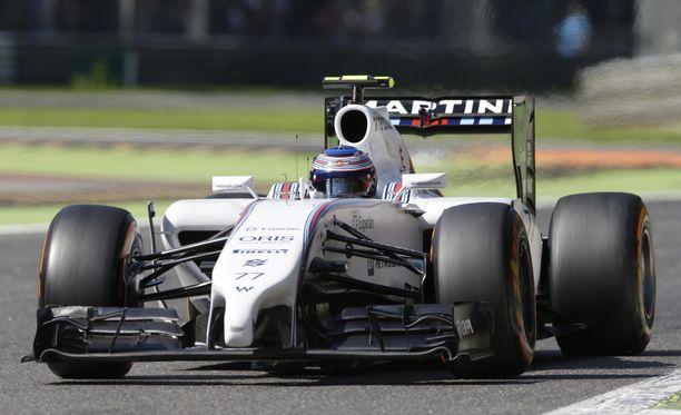 Valtteri Bottas oli vauhdissa Italian GP:n aika-ajoissa.