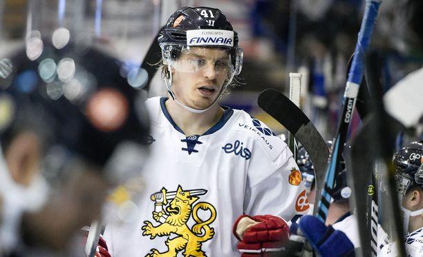 Antti Pihlström ei pelaa lauantaina Lappeenrannassa.
