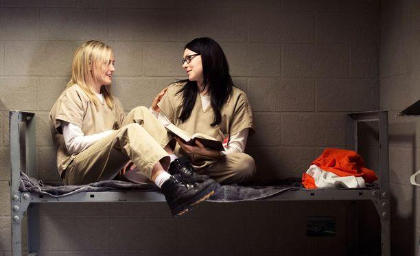 Yksi Netflixin suosituista omista sarjoista on naisvankilan arkea seuraava Orange is the New Black.