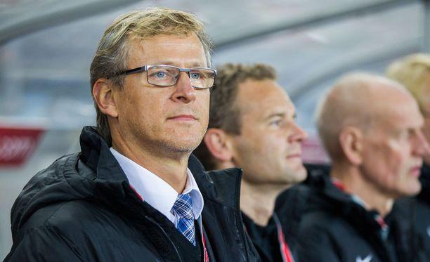 Päävalmentaja Markku Kanerva oli tyytyväinen leirin antiin.