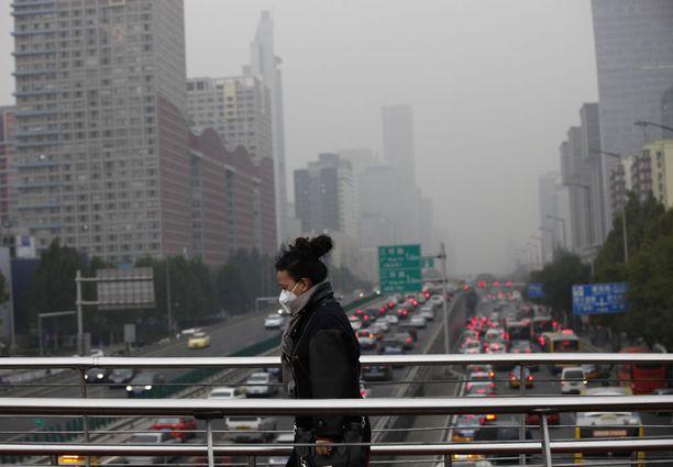 Kiina ylläpitää mainettaan kehitysmaana, minkä vuoksi sille annetaan enemmän anteeksi muun muassa ilmastoasioissa. Kuva pääkaupunki Pekingistä.