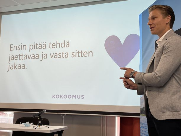 Varapuheenjohtaja Antti Häkkänen esitteli Seinäjoella kokoomuksen uutta toimenpidelistaa työllisyyden edistämiseksi.
