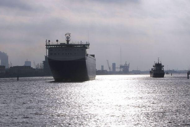 Kuvituskuva. Kyseessä olleet alukset olivat ro-ro-aluksia, eivät matkustajalaivoja.