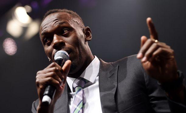 Usain Bolt tykkää bilettää.