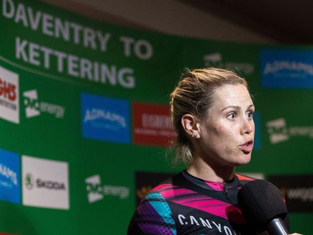 Tiffany Cromwell haluaa olla maailman paras naispyöräilijä.